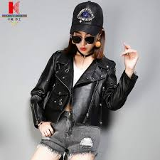 2019 sleeveless leather jacket womens brown leather jacket with hood cropped fur lined biker jacket quality brands hooded leather from dengpeng520