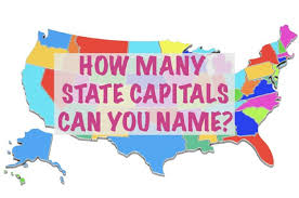 Image result for 50 states and capitals images