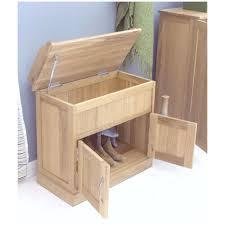 shoe storage hallway furniture. Mobel Solid Oak Furniture Shoe Storage Hallway Bench