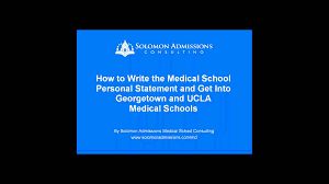 how to get into georgetown and ucla medical schools how to get into georgetown and ucla medical schools solomon admissions consulting