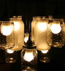 creative diy lamp design from second hand items mason jar chandelier