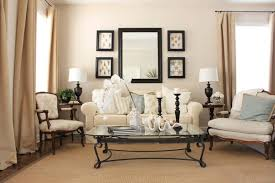 mirror hangs over sofa large wall flanked dma homes 44027 for popular residence how to decorate a wall mirror decor
