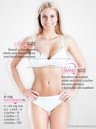 measure your bra size how to correct measure your bra size champion products online view