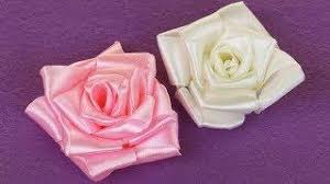How To Make A Paper Ribbon Flower Diy Ribbon Bow Paper How To Fold A Simple Paper Ribbon Tutorial