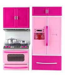 Barbie Kitchen Furniture Surya Pink Barbie Kitchen Set Buy Surya Pink Barbie Kitchen Set