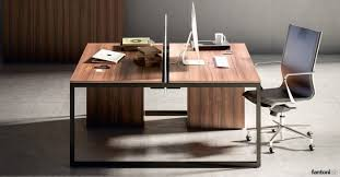 wooden office desk. Framework Desk With Walnut Top Plus Black Frame Wooden Office