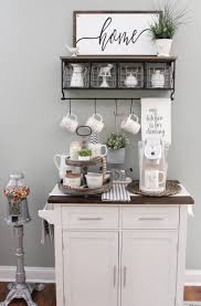 What mom doesn't start her day without coffee? 42 Adorable Coffee Station Ideas For A Blissful Coffee Time