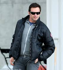 ... Keeping it casual Hugh was later seen leaving his West Village  apartment wearing a Canada ...