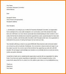 10 Donation Letter Examples Instinctual Intelligence