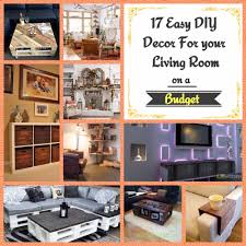 17 easy diy decor for your living room on a budget
