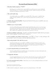 Examples Of Branding Statements For A Resume Resume Branding Statement Examples Wikirian Com