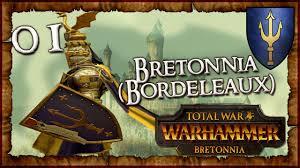 1 total war warhammer bretonnia bordeleaux duke alberic de bordeleaux clip fail