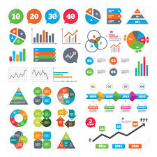 Business Charts Growth Graph Sale Discount Icons Special Offer