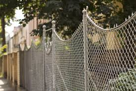 a chain link gate can come in many shapes and sizes