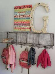 Storage Coat Rack With Baskets Classy Coat Rack Wire Basket With Hook Gives You Shelves Storage And A