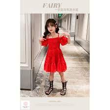 Đầm bé gái 6 tuổi (3 - 12 tuổi)️ váy đẹp cho bé gái 10 tuổi️ thời trang bé  gái size đại 25kg, 30kg, 35kg, 40kg, 45kg giá cạnh tranh