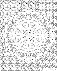 Mindfulness Coloring Pages Downloadable Colouring For Relieving