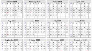 Free 2020 Monthly Calendar Template Free Editable 2020 Calendar Printable Template