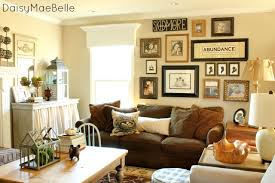 ... Wall Decor Ideas For Family Room Large Square Monochrome Portable  Photos Antique Design Red Background Black ...