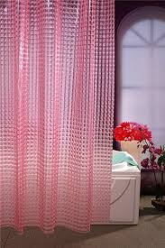 wimaha standard pholes design shower curtain mildew resistant waterproof shower curtain with shower curtain hooketal grommets x pink