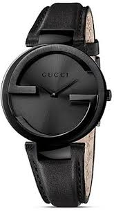 25 best ideas about gucci watch gucci men s gucci pvd case watch black dial and strap in black lyst