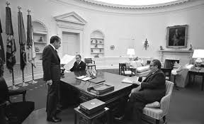 nixon office. Nixon Office. President Nixon, Alexander M. Haig, \\u0026 Henry Kissinger: Office D