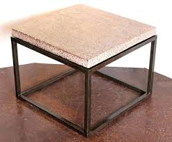 pine wood veneer and metal side table round black petrified kitchen surprising with