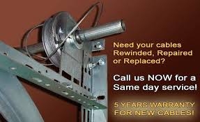 garage door cable council bluffs repair pulley installation