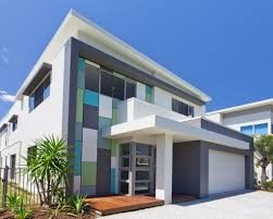 Architecture Beautiful Minimalist House Design Ideas With Colorful - Modern houses interior and exterior