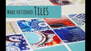 Design Your Own Tiles Make Your Own Patterned Tiles