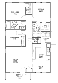 Small 3 Bedroom House Home Design Mediterranean House Plans Floor Plan For Small 1200