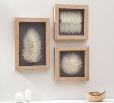 on framed wall art decor with framed leaf wall art pottery barn