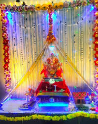 ganesh chaturthi decoration ideas ganesh pooja decor ganpati