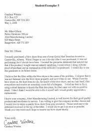 Alberta Education links to Samples of Student Writing Business Letter Examples Free Business Letter Format