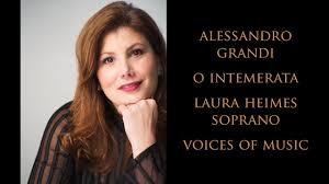 Alessandro Grandi: O Intemerata; Voices of Music, Laura Heimes, soprano -  YouTube