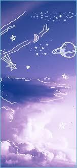 Purple Sky Vsco Aesthetic Iphone Hd In ...