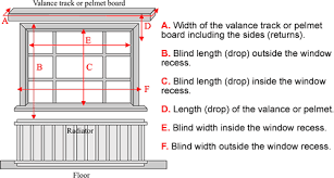 How to measure blinds Inside Measuring Up For Blinds Top How To Measure Blinds For Window New Pascalmesniercom Measuring Up For Blinds Top How To Measure Blinds For Window New