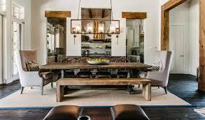 lighting ideas dining room rustic rectangular chandelier over inside light idea 2