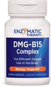 Enzymatic Therapy <b>DMG</b>-<b>B15</b>-Plus <b>60 Vegetarian</b> Capsules ...