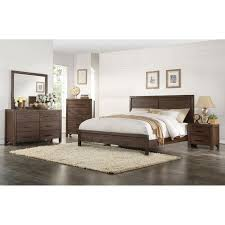 Brown Rustic Contemporary 6-Piece King Bedroom Set - Dillon | RC Willey  Furniture Store