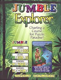 Jumble Explorer Charting A Course For Puzzle Paradise