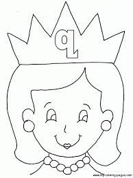 Small Picture Letter Q Coloring Pages For Kids Preschool and Kindergarten