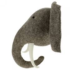 fiona walker large elephant animal head