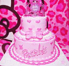 Barbie Girl Cake3 Barbie World Barbie Birthday Cake Barbie