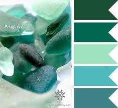 color palette inspiration seaglass