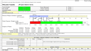 Project Status Sheet Weekly Report Template Excel Elegant Update ...