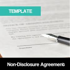 Nda Template For Startup Non Disclosure Agreement Nda Template