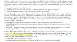 Free Online Resume Fresh Download Beautiful Bank Resume Igreba Com