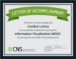 information visualization mooc letter of accomplishment ivmooc letter of accomplishment