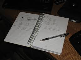 writer s notebook in action dennis langley s blog i actually keep three active notebooks one at home one at work and one in my commuter backpack my home notebook goes me when i take the ceo of my